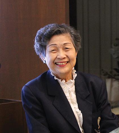 ศาสตราภิชาน พูลพร แสงบางปลา นายกสมาคมวิศวกรหญิงไทยคนแรก
