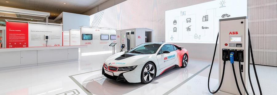 ABB ถือเป็นผู้นำในการพัฒนาเทคโนโลยีชาร์จไฟฟ้าแบบครบวงจรสำหรับรถยนต์ไฟฟ้า รถโดยสารไฟฟ้าและไฮบริด