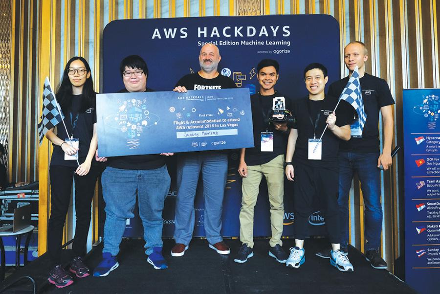 ผลการแข่งขันรอบชิงชนะเลิศ AWS Hackday 2018