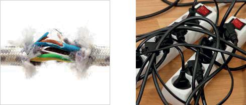 อุปกรณ์ไม่ได้มาตรฐาน สาเหตุของไฟฟ้าลัดวงจร