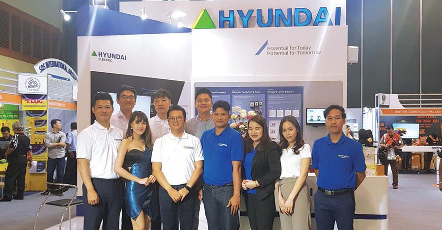 Hyundai Electric ในงาน TEMCA Forum & Exhibition 2018 Pattaya
