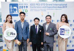 กิจกรรมประชาสัมพันธ์งาน IEEE PES GTD ASIA 2019 ภายในงาน IEEE PES Dinner Talk 2018