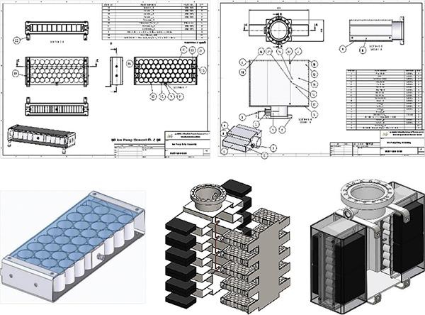 การใช้โปรแกรมออกแบบโครงสร้างปั๊ม