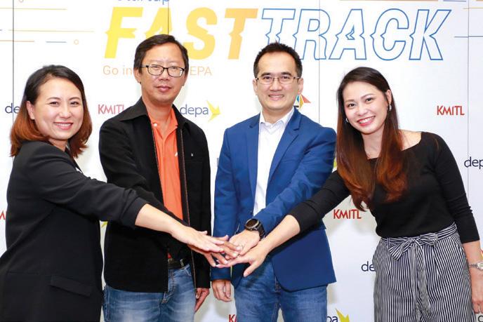 "depa หนุนสตาร์ทอัพไทยสู่เวทีโลก จับมือ RISE และ KMITL เปิดตัวโครงการ Startup FastTrack ""Go inter with depa"""