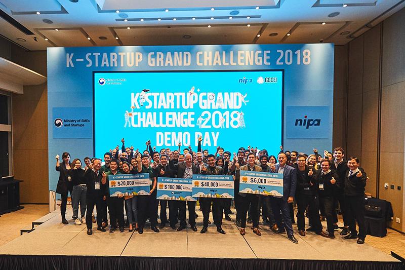"""โครงการ K-Startup Grand Challenge (""""KSGC or KSGC 2019"""") ครั้งที่ 4 โปรแกรมบ่มเพาะธุรกิจสตาร์ทอัพที่ดีที่สุดในเอเชีย"""