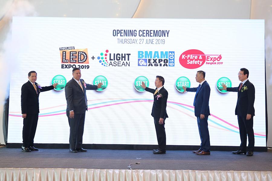 ผสานนวัตกรรมอนุรักษ์พลังงาน กับ ระบบอัจฉริยะ ในงาน BMAM Expo Asia, K-Fire & Safety Expo Bangkok และ LED Expo Thailand + Light ASEAN