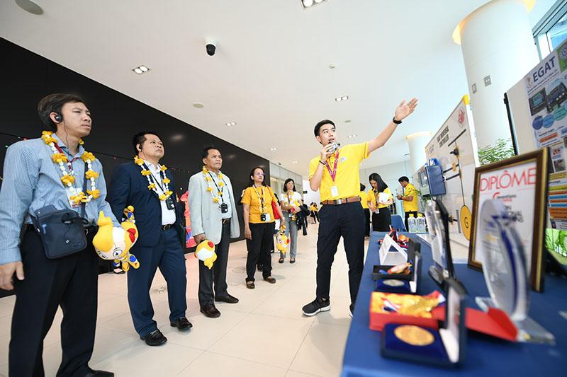 คณะเจ้าหน้าที่อาวุโสด้านพลังงาน 10 ประเทศอาเซียน จากการประชุม SOME ครั้งที่ 37
