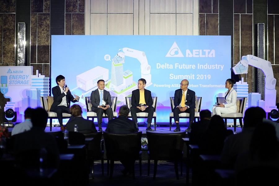Delta Future Industry Summit 2019 มุ่งผลักดันไอเดียเปลี่ยนอาเซียนให้เป็นเมืองอัจฉริยะ