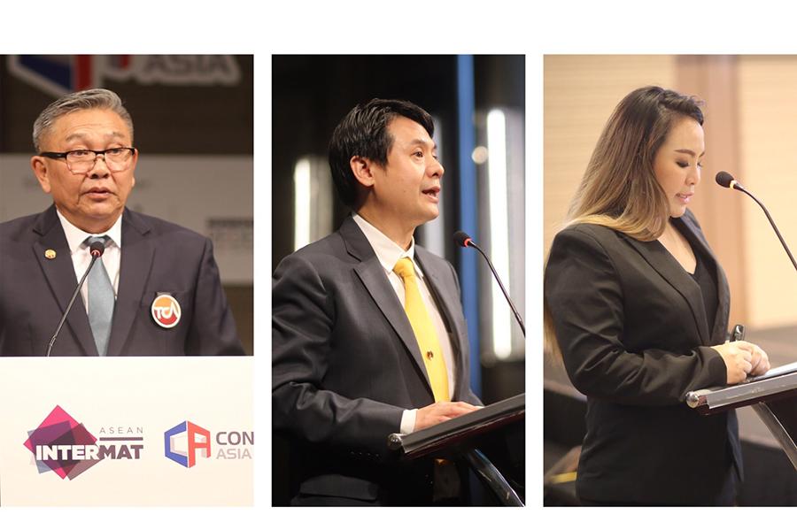 งาน INTERMAT ASEAN และ CONCRETE ASIA 2019