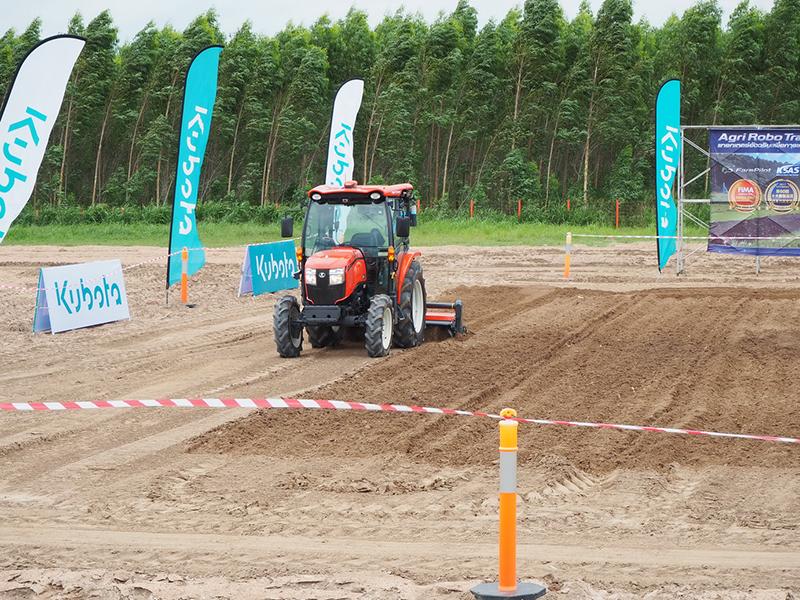 แทรกเตอร์ KUBOTA Agri Robo Tractor รุ่น SL60A แบบอัตโนมัติไร้คนขับ