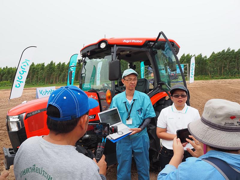 แทรกเตอร์ KUBOTA Agri Robo Tractor รุ่น SL60A