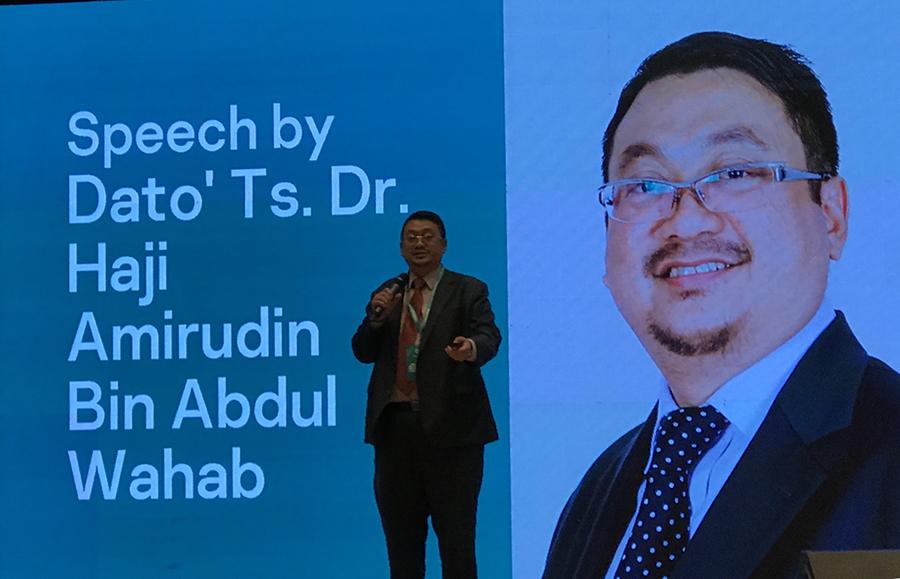 Dato 'Ts Ds. Amirudin Abdul Wahab, CEO of CyberSecurity Malaysia