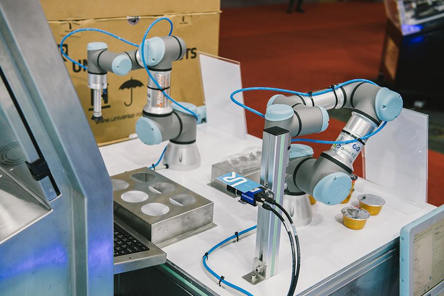 หุ่นยนต์เพื่อการทำงานร่วมกับมนุษย์ (โคบอท)