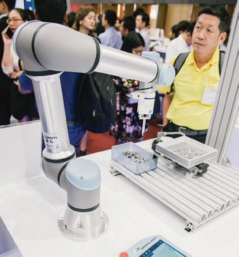 หุ่นยนต์ที่ทำงานร่วมกับมนุษย์ หรือโคบอท