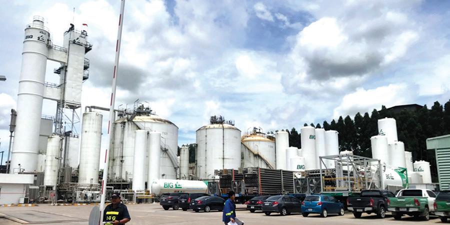 บีไอจี โชว์คอมเพล็กซ์ก๊าซอุตสาหกรรมครบวงจร พร้อมลงทุนรับอีอีซี