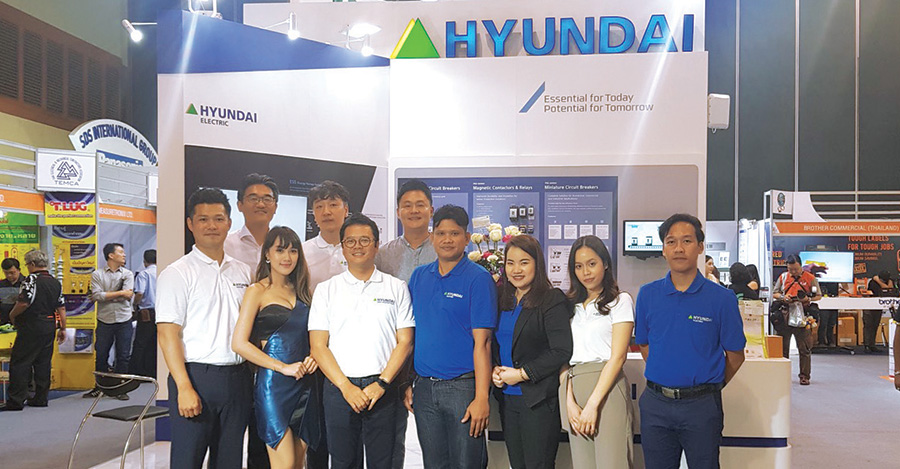 Hyundai Electric ในงาน TEMCA Forum & Exhibition 2018 Pattaya