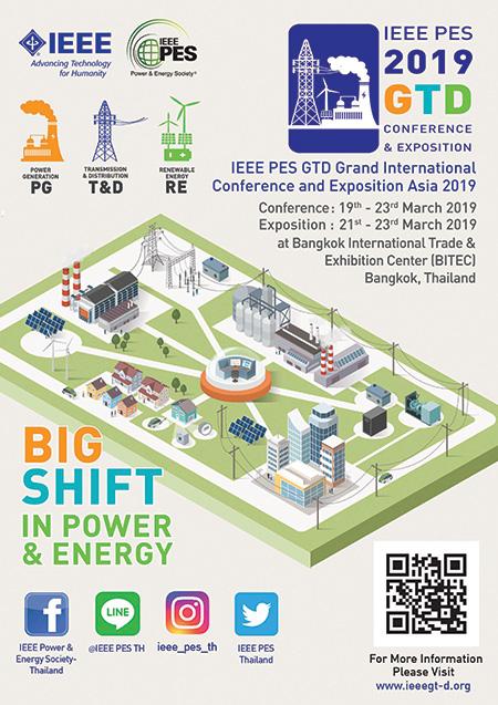 งาน IEEE PES GTD ASIA 2019
