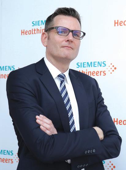 ดร.โทเบียส เซย์ฟาร์ท กรรมการผู้จัดการและประธาน ซีเมนส์ เฮลทิเนียร์ส ประจำภูมิภาคอาเซียน กล่าวว่า ซีเมนส์ เฮลทิเนียร์ส