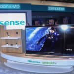 Inside the Hisense CES 2019 Booth on Tuesday, Jan. 8 2019 in Las Vegas. (Jeff Bottari/AP Images for Hisense)