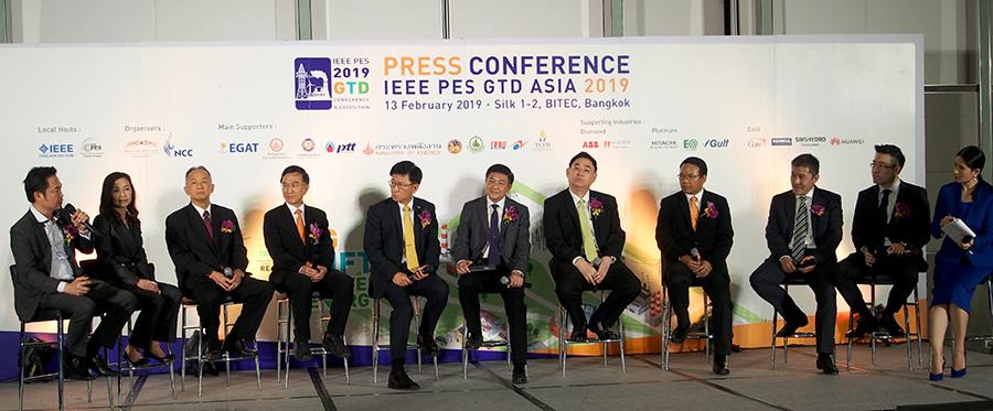 งานแห่งอนาคตด้านไฟฟ้าและพลังงาน IEEE PES GTD ASIA 2019