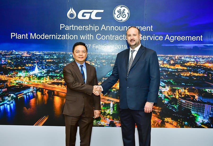 GE ลงนามต่อสัญญาเพื่อดูแลและบำรุงรักษาเครื่องกำเนิดไฟฟ้าของ GC ด้วยเทคโนโลยีล้ำสมัย