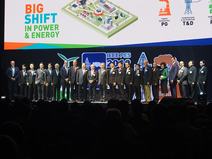 งานนิทรรศการด้านไฟฟ้าและพลังงาน IEEE PES GTD ASIA 2019
