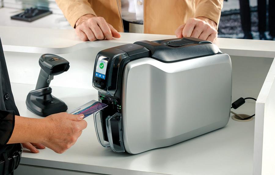 เครื่องพิมพ์บัตรรุ่นใหม่ล่าสุด ซีบรา ZC300 ซีรีส์