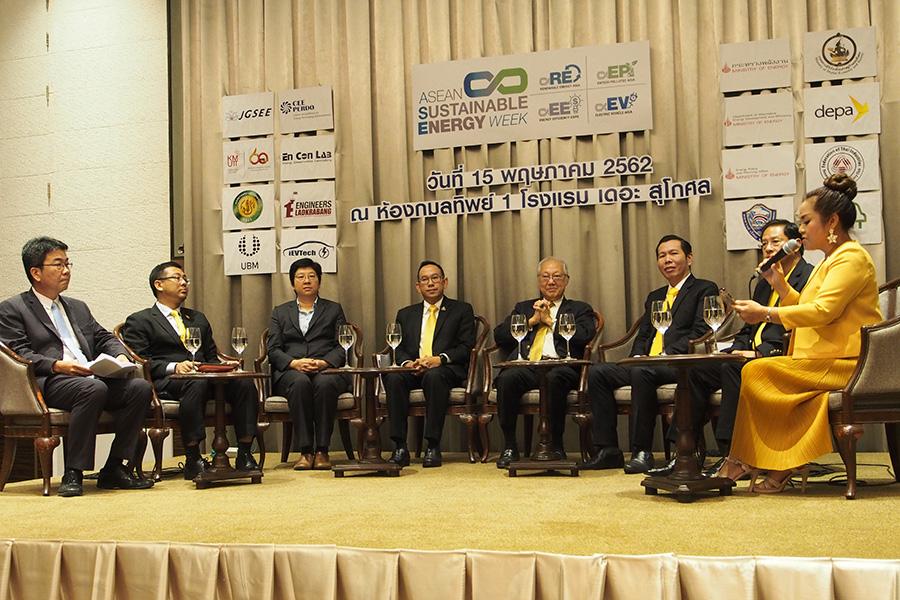 งานแถลงข่าว การจัดงาน ASEAN Sustainable Energy Week 2019
