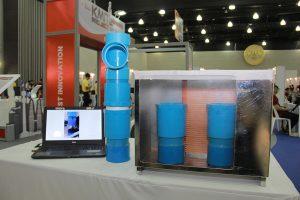 นวัตกรรมลดการไหลของน้ำในดินด้วยแบคทีเรีย