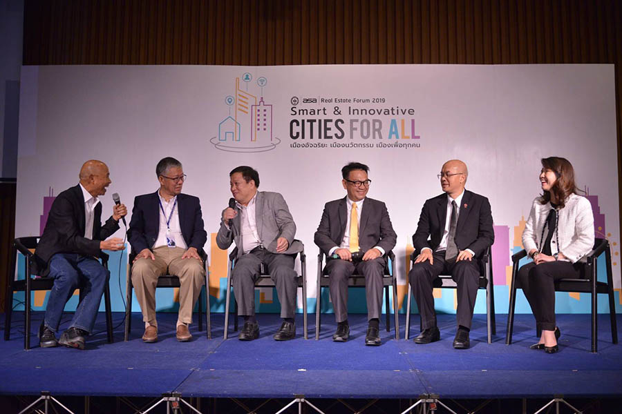 "เสวนา Suthichai Talk With Friends of ASA ในหัวข้อ ""Smart & Innovative CITIES FOR ALL"""