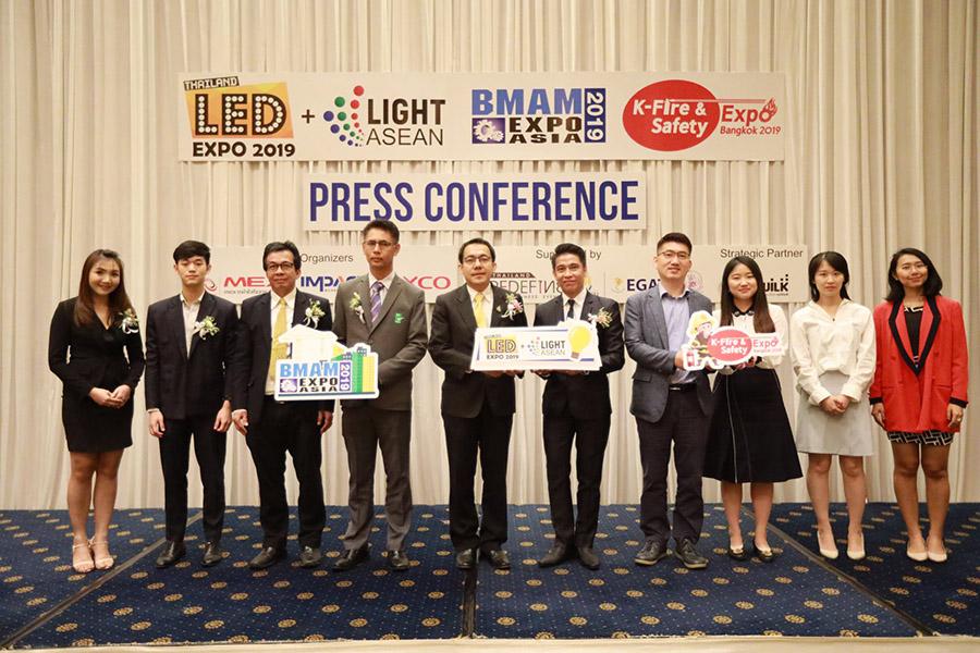 3 งานใหญ่ LED / BMAM / K-Fire & Safety อีเว้นท์แห่งนวัตกรรมแสงสว่าง ความปลอดภัย และระบบภายในอาคาร ชูเทคโนโลยีอัจฉริยะ ตอบสนองไลฟ์สไตล์ตลาดยุคไอที