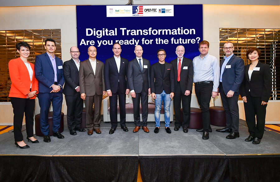 AMCHAM Thailand จับมือ OPEN-TEC จัดงาน Digital Transformation - Are you ready for the future?