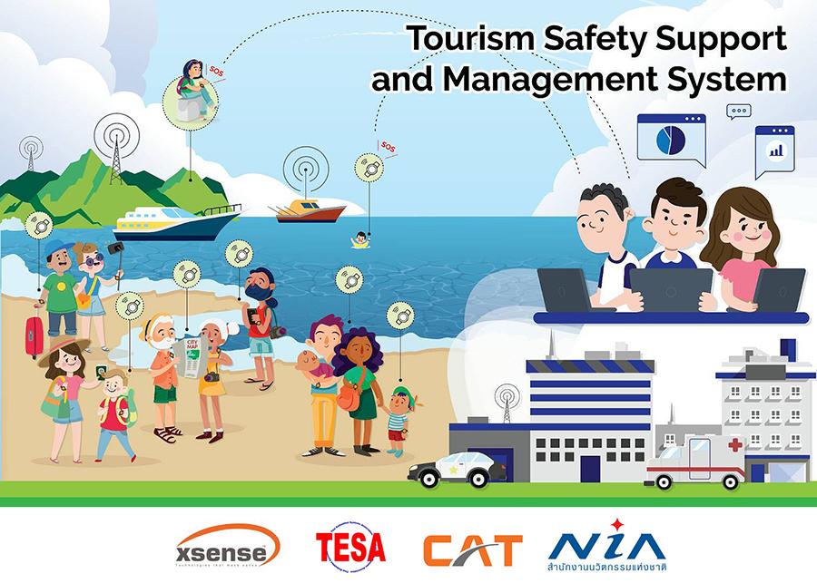 ระบบจัดการเพื่อรักษาความปลอดภัยนักท่องเที่ยว