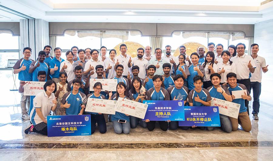 ทีมเดลต้าเอเชียตะวันออกเฉียงใต้และอินเดียเข้ารอบแข่งขันเดลต้าคัพ ครั้งที่ 6