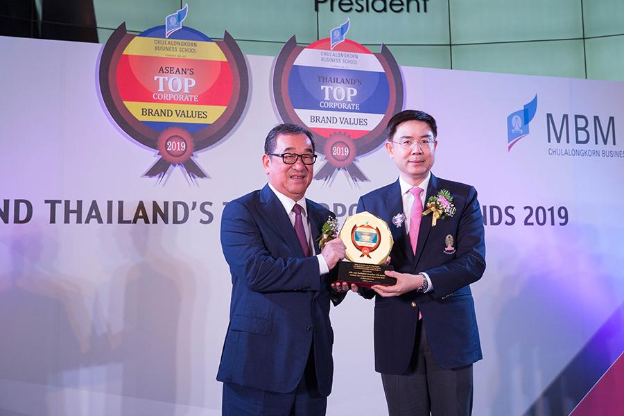 เดลต้าคว้ารางวัล Thailand's Top Corporate Brands Hall of Fame 2019