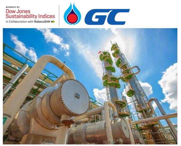 GC คว้าอันดับ 1 ดัชนีความยั่งยืนระดับโลก DJSI ใน Chemical Sector