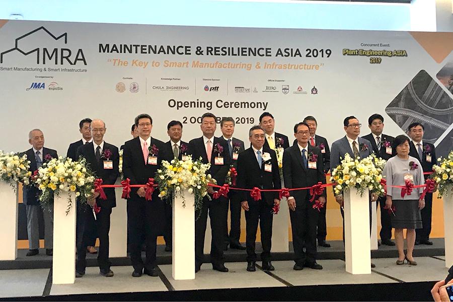 ไทยผนึกญี่ปุ่น เปิดฉลากงาน MRA 2019 ดึงบิ๊กอุตฯ - บิ๊กก่อสร้าง โชว์ 200 เทคโนโลยีสุดล้ำ หวังกระตุ้นผลิตภาพไทยสู่ยุค IoT