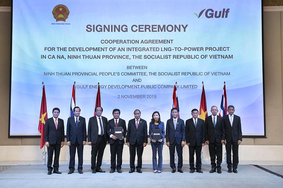 """""""กัลฟ์""""ลงนามความร่วมมือพัฒนาโครงการ โรงไฟฟ้าก๊าซธรรมชาติ 6,000 MW ในเวียดนาม"""