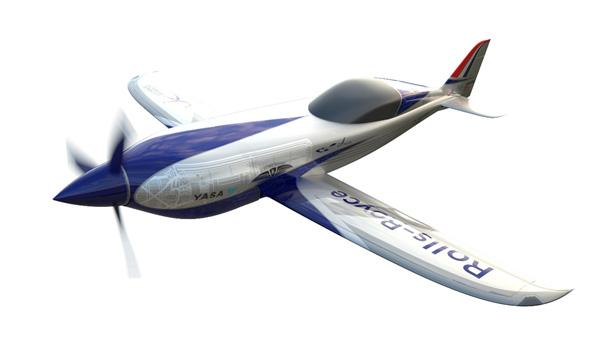 แอคเซล (ACCEL) เครื่องบินพลังงานไฟฟ้าที่บิน