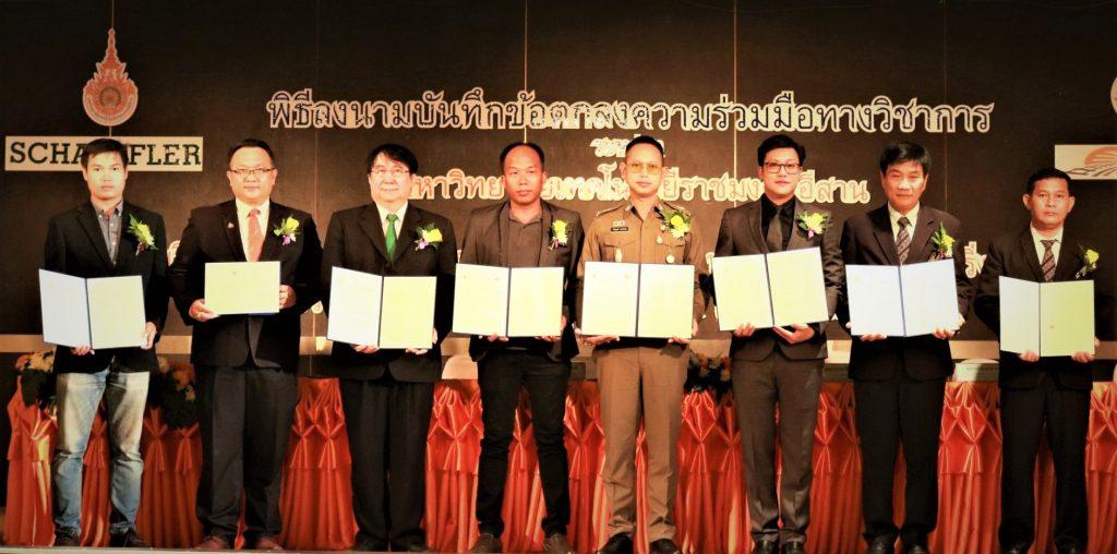 แชฟฟ์เลอร์ ประกาศความร่วมมือกับมหาวิทยาลัยเทคโนโลยีราชมงคลอีสาน พัฒนาหลักสูตรด้านระบบขนส่งรถไฟและเทคโนโลยีในไทยเป็นครั้งแรก