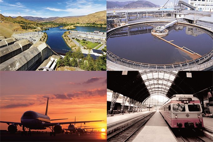 Public Facilities - Gas, Water and Sewerage, Airport, Railway, Harbor
