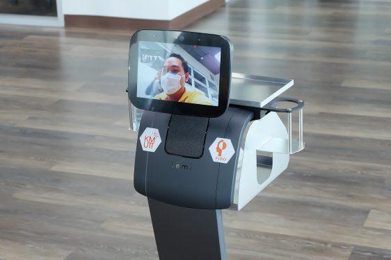 สกสว.เผยความคืบหน้านวัตกรรมหุ่นยนต์ไทยสู้โควิด-19