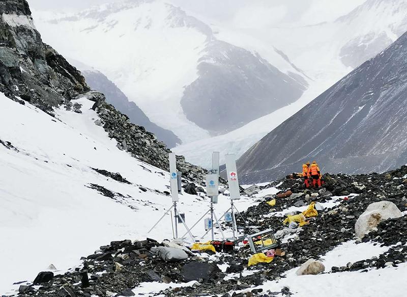 สถานีฐาน5G ที่ความสูง 6,500 เมตร