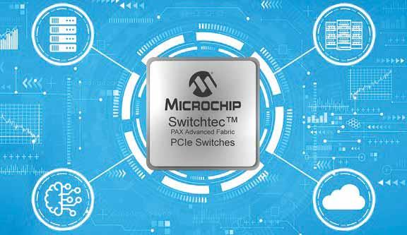 อุปกรณ์สวิตช์ตระกูล Switchtec™ PAX Advanced Fabric Gen 4 PCIe