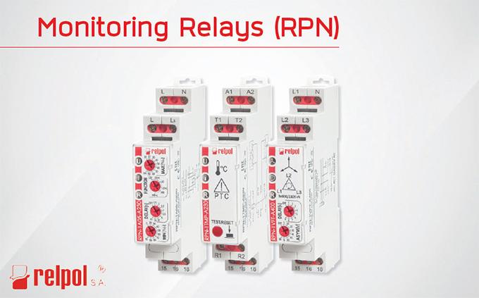 Relpol Monitoring Relays