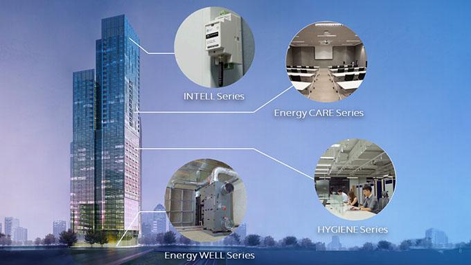 Smart Building Solution นวัตกรรมเพื่ออาคารประหยัดพลังงาน