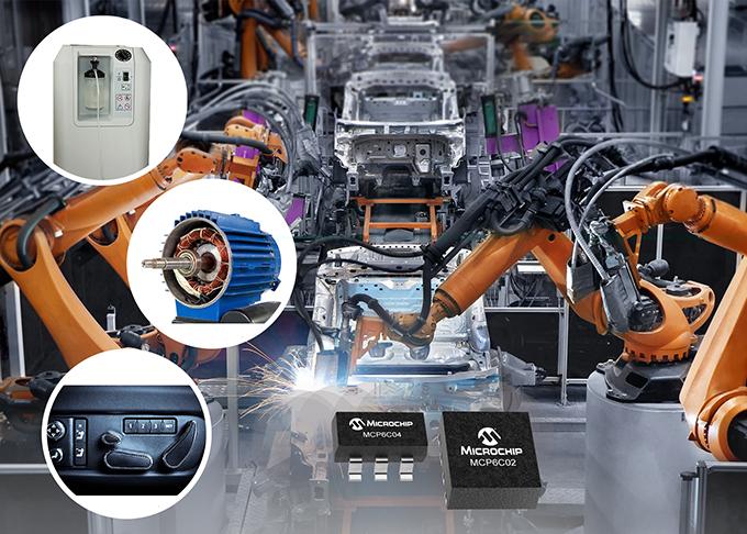 ไมโครชิพให้ความแม่นยำและประสิทธิภาพด้านพลังงานในการตรวจติดตามกระแสไฟฟ้าด้วยแอพยานยนต์แบบอุณหภูมิสูง