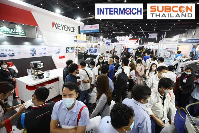 งาน อินเตอร์แมค 2021 (INTERMACH 2021) สุดยอดงานแสดงเทคโนโลยีและนวัตกรรมเครื่องจักรครั้งยิ่งใหญ่งานแรกของปี ควบคู่กับงาน ซับคอน ไทยแลนด์ (SUBCON Thailand 2021)