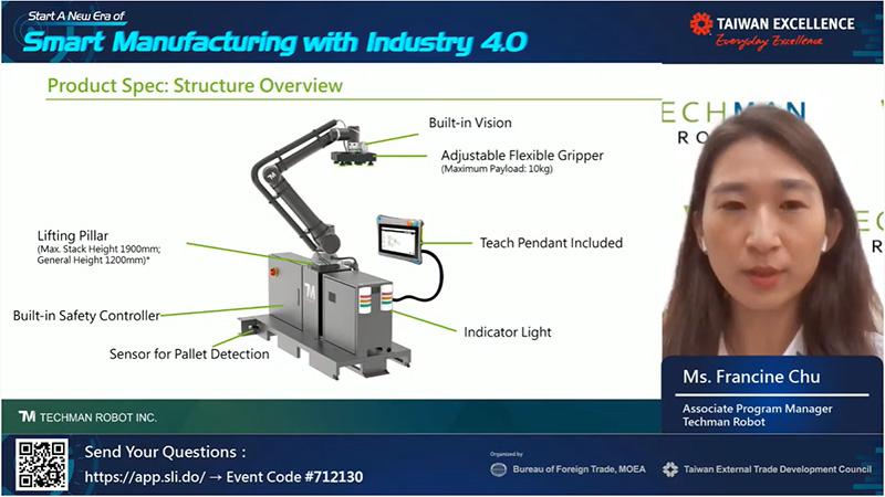 โซลูชันระบบอัตโนมัติและอุตสาหกรรม 4.0 จากไต้หวัน